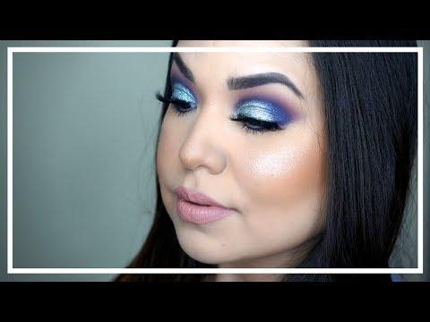 Frozen ocean | tutorial de maquillaje Nancy Ibarra