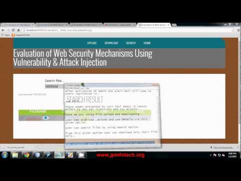 Evaluation of Web Security Mechanisms Using Vulnerability & Attack Injection