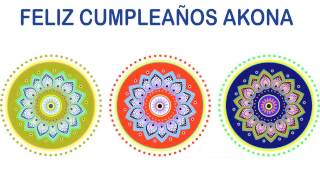 Akona   Indian Designs - Happy Birthday