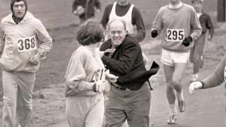 شاهد| كاثرين سويتزر أول امرأة تقتحم سباقات الرجال