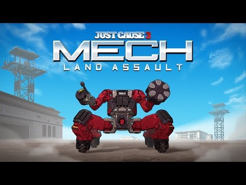 Just Cause 3 Mech Land Assault Launch Trailer ESRB