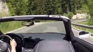 Audi R8 V10 Spyder in den Dolomiten