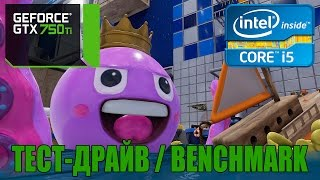 The Mean Greens Plastic Warfare - ТЕСТ-ДРАЙВ BENCHMARK - GTX 750 TI OC 2GB