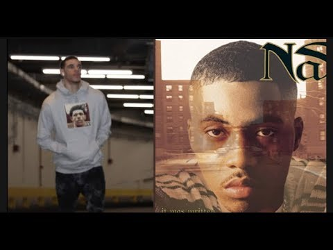 Lonzo Ball Disses Nas Before Laker-Knicks Game, Puts His Face On
