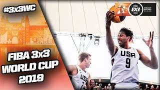 United States v Latvia | Men's Full Final Game | FIBA 3x3 World Cup 2019