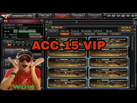 Zu Li - Chia Sẽ Acc CF Vip 2018 [Không Ai Chơi]