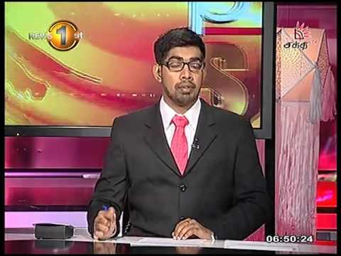 News 1st Prime time Sunrise Shakthi TV 6 45 AM 24th May 2016