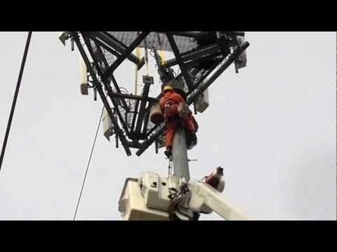 cell tower platform removal