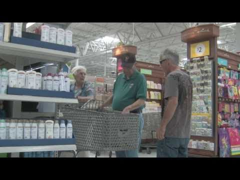 Uncle John MESSING with people At The Store!