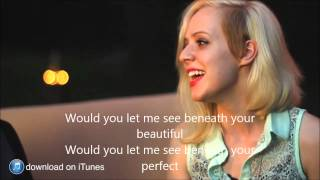 Beneath Your Beautiful - Labrinth ft. Emeli Sande Cover - RUNAGROUND & Madilyn Bailey (lyrics)