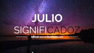 Julio - Significado del Nombre Julio