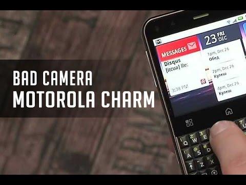 Kamera Motorola Charm Rusak