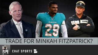 Minkah Fitzpatrick Raiders Trade Rumors - Should Oakland Target The Dolphins Star Safety In 2019?
