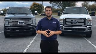 2016/2017 Ford Super Duty (F-250, F-350) Comparison | Craig Layfield, Johnson City Ford