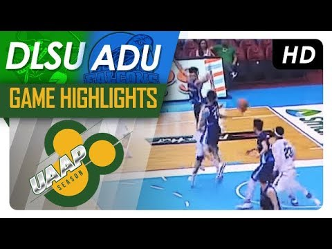 DLSU vs. AdU | Final Four Game Highlights | UAAP 80 Men's Basketball | November 18, 2017