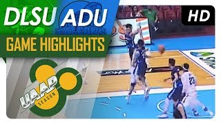 DLSU vs. AdU | Final Four Game Highlights | UAAP 80 Men's Basketball | November 18, 2017