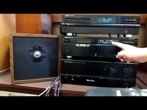 Marantz Record Test with Teac Cobalt 52X Studio Tape