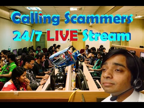 Calling Indian Scammers 24/7 Live STREAM