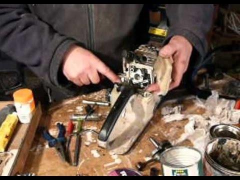 Ручная пила из цепи от бензопилы + тeст самодeлки - YouTube