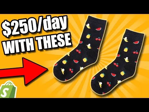 This Dumb Sock Dropshipping Store Does Numbers (What We Can Learn)