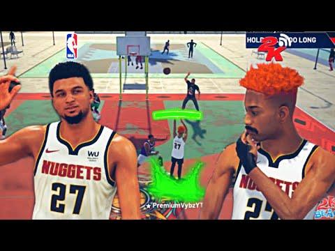 Download JAMAL MURRAY + PREMIUM VYBZ IS UNBEATABLE ON NBA 2K21!