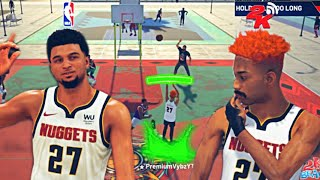 JAMAL MURRAY + PREMIUM VYBZ IS UNBEATABLE ON NBA 2K21!