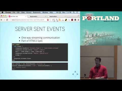 RailsConf 2013 Real-Time Rails by Brian Cardarella