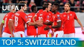 Top 5 Switzerland EURO 2016 qualifying goals: Shaqiri, Xhaka and more