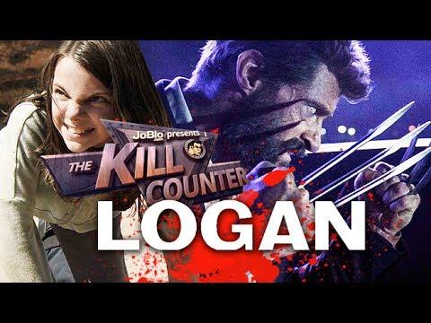 LOGAN - The Kill Counter (2017) Hugh Jackman, James Mangold Wolverine movie