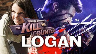 LOGAN - The Kill Counter (2017) Hugh Jackman, James Mangold Wolverine Movie