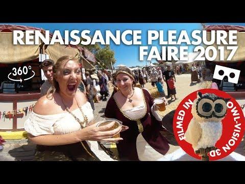 Renaissance Faire 2017 in 3D Owl-vision