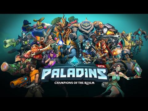 PALADINS MENU THEME