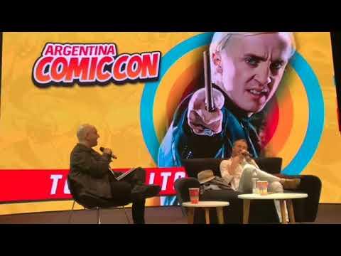 Tom Felton at Argentina Comic Con, December 8, 2017