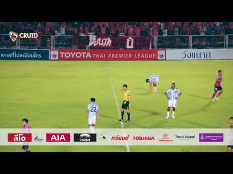 CRUTDTV Highlight 2015 : 28-02-58 Chainat fc 2-1 Chiangrai United [HD]