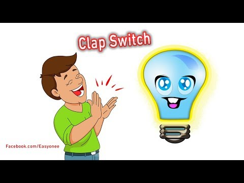 How to make a clap switch at home Control your light using IC 4017