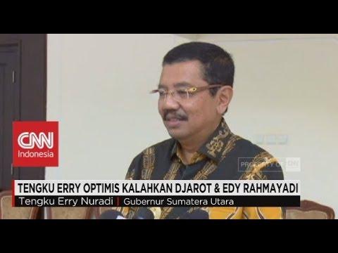 Tengku Erry Optimistis Kalahkan Djarot & Edy Rahmayadi Di Pilgub Sumut