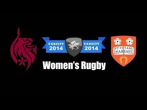 Women's Rugby | Varsity 2014