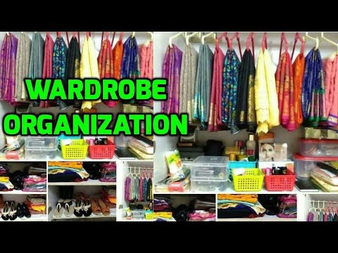 Women's Wardrobe Organization / How To Organize Small Wardrobe / Indian Wardrobe Organization
