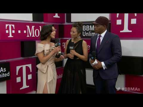 Vanessa Hudgens Magenta Carpet Interview  BBMAs 2017