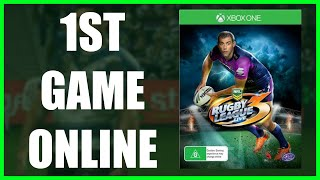 FIRST GAME ON XBOX LIVE (XBOX ONE) | RUGBY LEAGUE LIVE 3