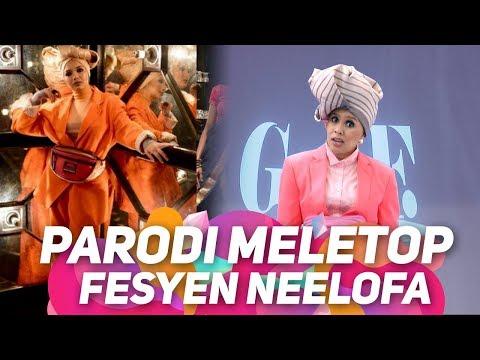 Lawak parodi Jihan bahan Neelofa..Sementara tunggu keputusan,layan Parodi Fesyen Mak Yakob | MeleTOP