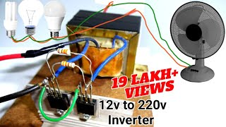 Comment Faire un Simple 12v dc à 220v ac Onduleur, सिर्फ 150 रुपये में