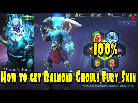 Lucky spin trick : How to Get Balmond Ghoul Fury Skin from Lucky Spin # 100% Work