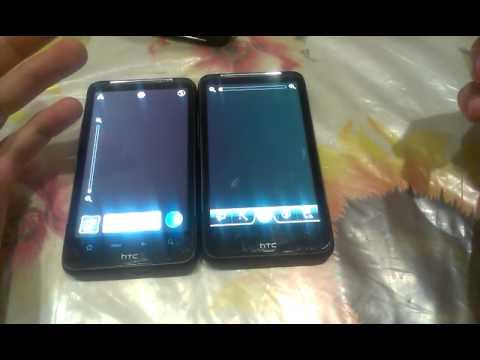 HTC Desire HD сравнение Android 4.0.4 и 2.3.5