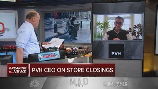 Calvin Klein-parent PVH CEO: Pandemic will 'accelerate' consolidation, store closures in apparel