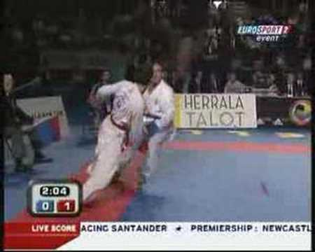 WKF 2006 Male Kumite U75kg Final
