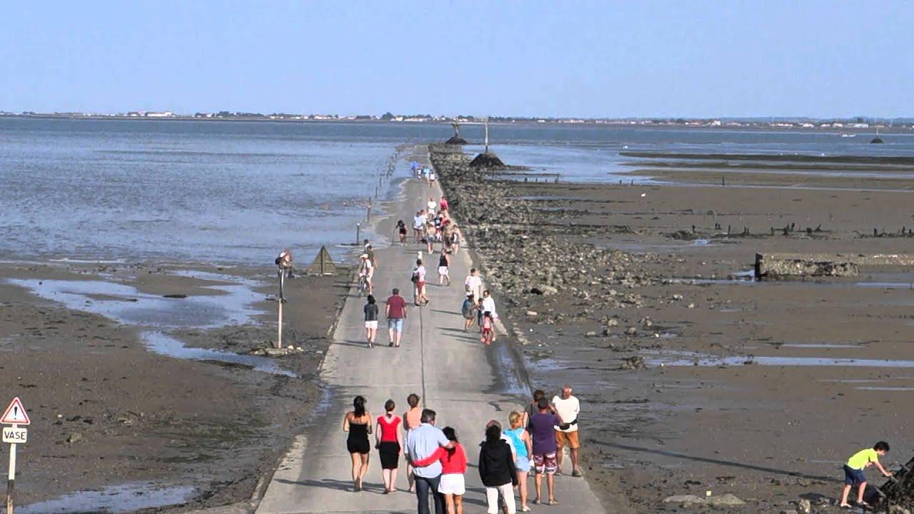 Calendrier Des Marees Noirmoutier.Passage Du Gois Noirmoutier