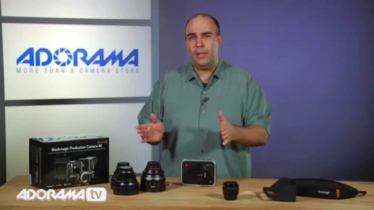 Blackmagic Design Production Camera 4k Product Overview Adorama Photography Tv Youtube