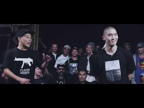 KOTD - Rap Battle - Tantrum vs A-Class *Hosted By Traphik & Dumbfoundead*