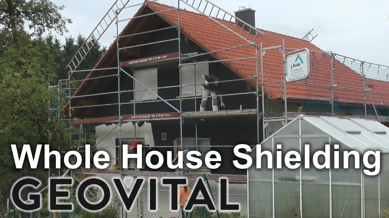 Whole House Emf Shielding With T98 Paint And Gpa Mesh